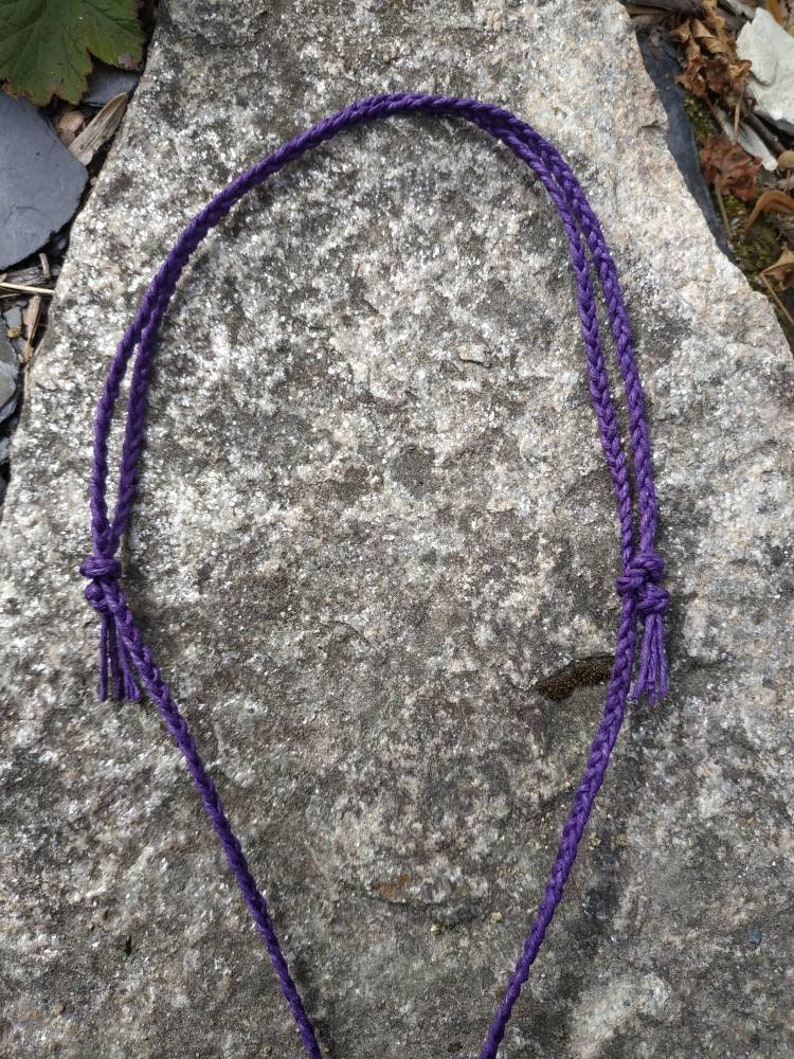 Sun Moon Necklace Amulet Pagan Jewelry Holey Stone Wiccan Jewelry Witchcraft Engraved Sun /& Moon Hag Stone Organic Hemp Necklace
