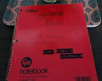 Kurt Cobain Journals - AMAZING