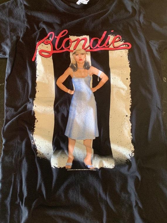 Old school Blondie slim fit T Shirt