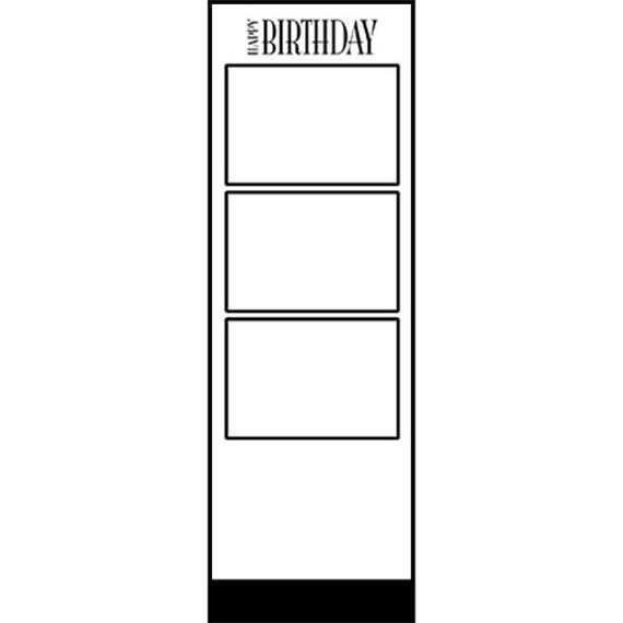 Photo Strip Template For Photo Booths 2070 Etsy