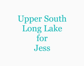 Upper South Long Lake