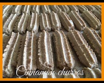 "Cinnamon churros, 2 big boxes with homemade Cinnamon churros, ""Spritzgebäck"""
