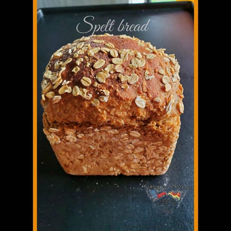 4 loafes of Spelt bread spelt whole grain german bread image 1