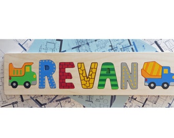 Personalized Name Puzzle, Made to Order for a Truly Handmade Gift