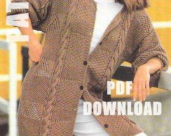 27912f006 Eyelet stitch knit