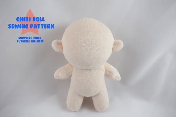 PlanetPlush Chibi Doll Minky Plush Pattern | Etsy