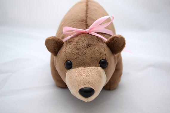 Mollig Bear Minky Plüsch Muster | Etsy