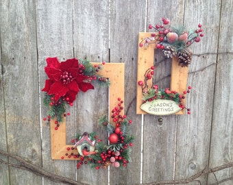 Christmas/Holiday/Winter decorated frames