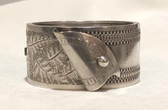 Victorian 1882 English Silver Aesthetic Corset Ban