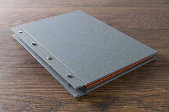Custom Screw Post Portfolio Book Ideal For Designers