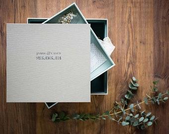 Bespoke Multi Tiered Wedding Keepsake & Memories Box
