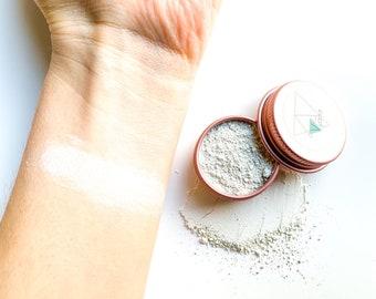 Finishing Powder • Setting Powder • translucent powder • vegan makeup • mineral veil • titanium dioxide free • zero waste