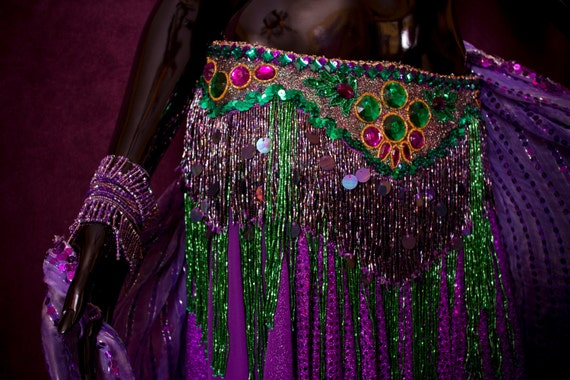 Egyptian Belly Dancing Bra and Girdle