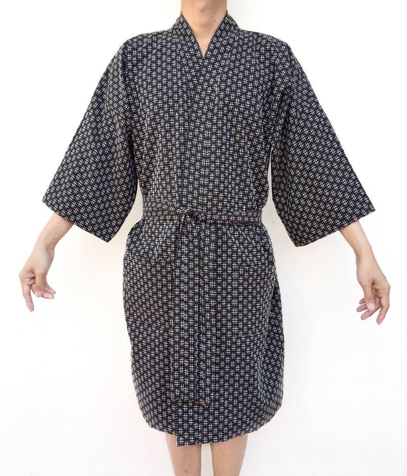 0049df9c14d9d0 Baumwolle Kimono Robe Custom Robe Bademantel Kimono Robe | Etsy
