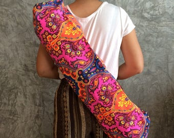 Bohemian Yoga Mat  / Yoga Mat Bag / Women's Yoga