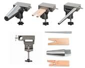 Bench Anvil Combo Kit - Round Bracelet and Ring Mandrels, Anvil, V Slot Bench Pin - 13-134