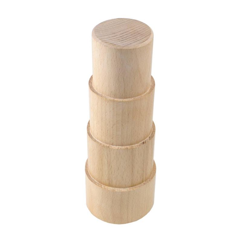 43-212 Oval Bracelet Mandrel 4  Stepped Wood