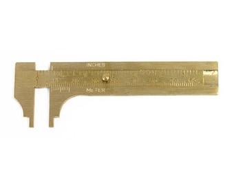 Brass Slide Gauge - 80mm - 35-156