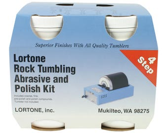 Lortone Stone Polishing Compound 4- Step Kit - 47-096