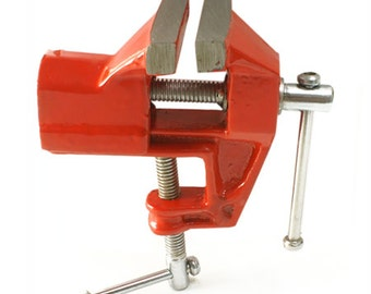 """Jewelry Bench Vise Tool Clamps onto Workbench 2""""Jaws - 12-204"""