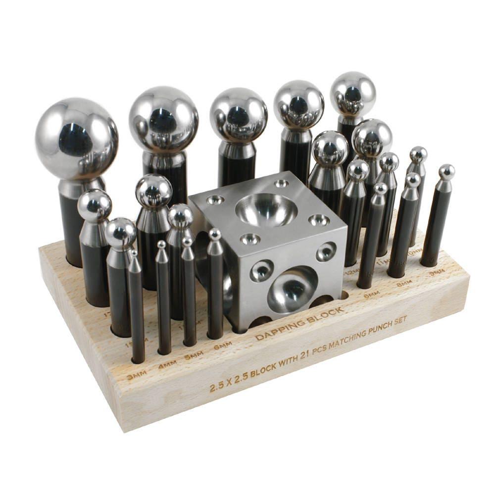 Professionnel 23 Piece Set emboutir - 43 43 43 3 Millimetre poinçons - 25-632 3d8ddd