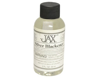 Jax Black Jewelry Antique Patina For Silver And Gold 2OZ - 45-940