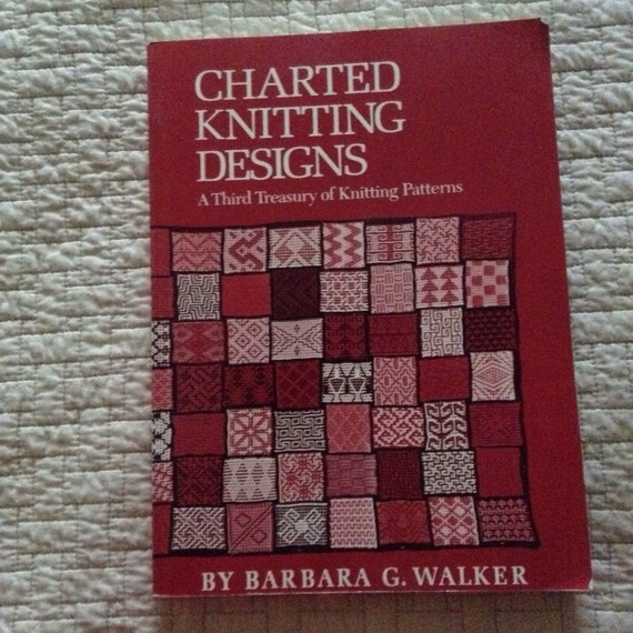 Charted Knitting Designs A 3rd Treasury Of Knitting Patterns Etsy