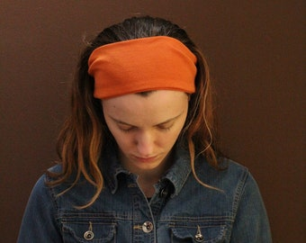Stretchy Orange Headcovering