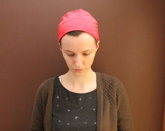 Stretchy Red Head Covering/Headband