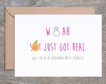 shit just got real engagement card bridal shower card wedding card congrats engagement card funny bridal shower card mature