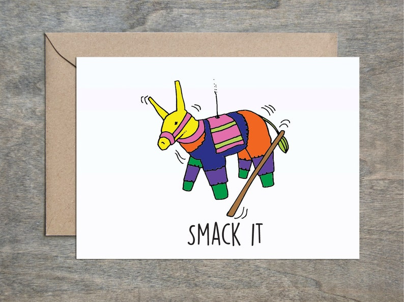 Smack It Funny Birthday Card Friend