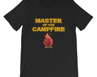 Master of the campfire short sleeve T-shirt