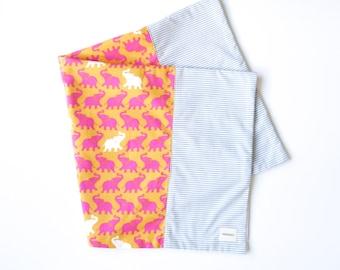Miminko Diaper Bag Blanket: Elephants