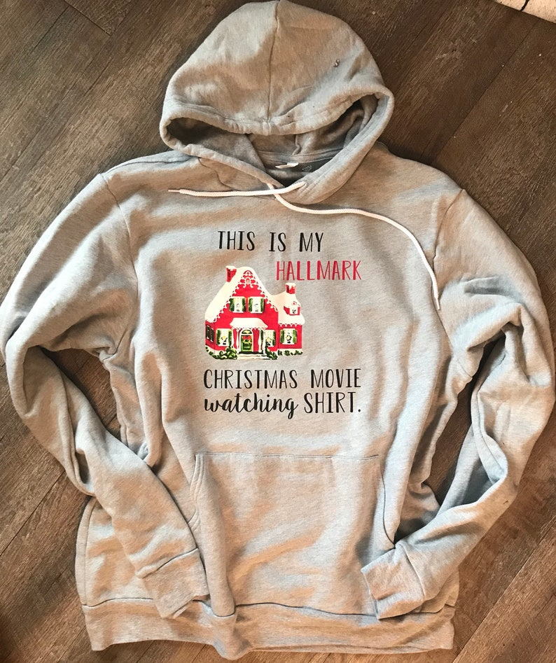 1fdbaf489 This is my hallmark christmas movie watching shirt in a | Etsy