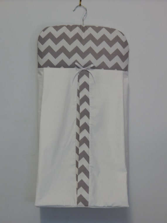 Yellow Chevron Nappy Diaper Stacker 100/% Cotton  **Available in 9 Colours**