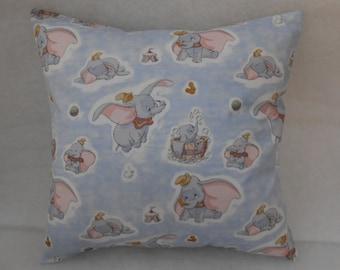 """Dumbo the Elephant Nursery Cushion Cover 40cm x 40cm (16""""x 16"""")"""