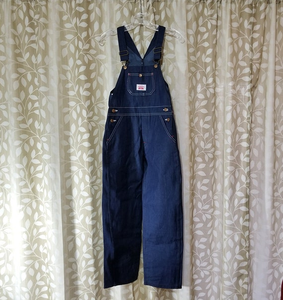 Round House Unisex-Baby Striped Overalls