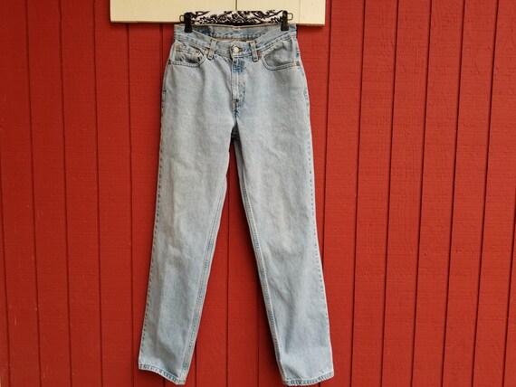 Vintage 1990s Levis 512 Slim Fit Straight Leg Jean