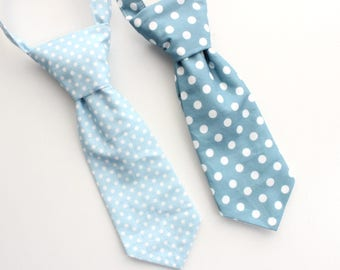 5e153974f438 Baby polka dot tie