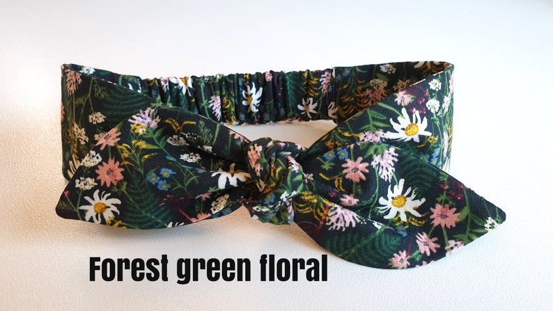 floral headbands Floral baby headbands topknot baby headwrap rifle paper co You Pick liddleberry baby headbands top knot
