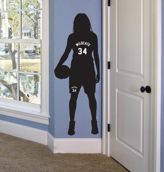 Girls Basketball Gifts Personalized Basketball Decor Basketball Room Decor Girls Basketball Wall Art Basketball Bedroom Decor