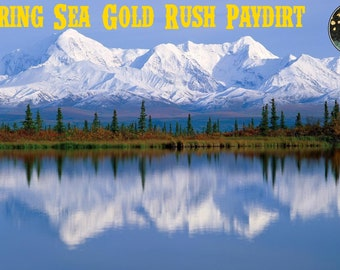 BERING SEA Gold Rush Paydirt from Nome ALASKA, Three (3+) Pounds - Real Gold Guarantee
