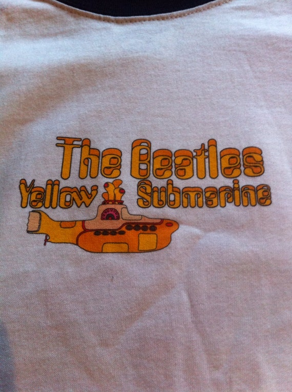 Vintage Beatles Yellow Submarine Shirt