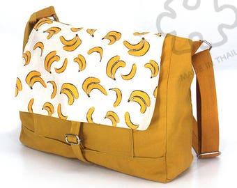 10% Off [Orig. 25.99] Banana bag Messenger bag Crossbody bag banana Sling purse Shoulder Bag Tote