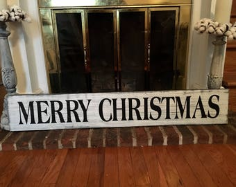 Merry Christmas, Farmhouse Christmas, Christmas Sign, Farmhouse Christmas Decor, Fixer Upper Decor, Fixer Upper Christmas