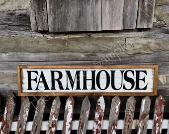8x38 Framed Farmhouse Sign, Framed Farmhouse Sign, Farmhouse Decor, Shabby  Chic Sign