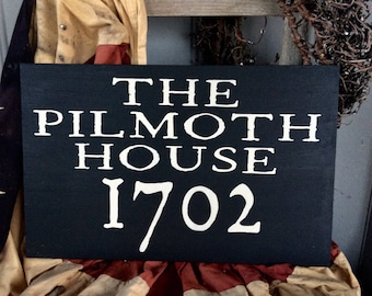 House Sign, Circa House Sign, Historic House, Established Sign, Custom House Sign, Custom
