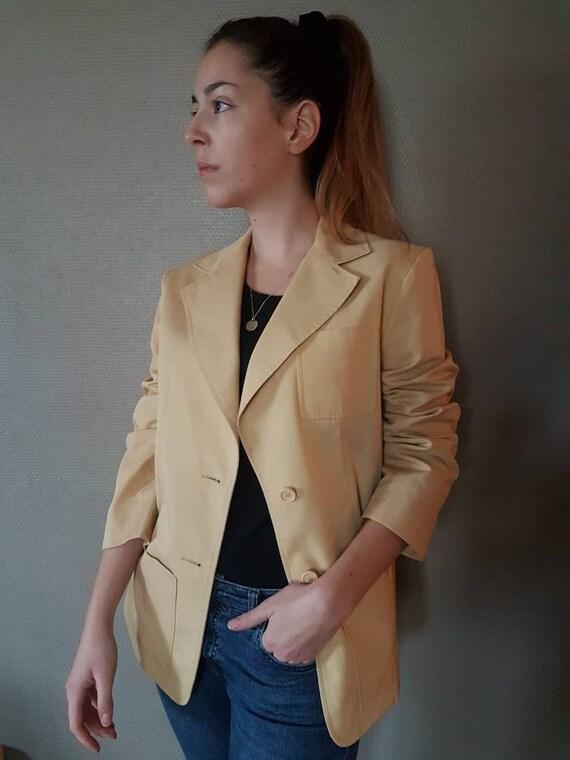 Dior, french vintage jacket, 1980s,