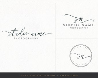 Premade Logo Design, Photography Logo and Watermark
