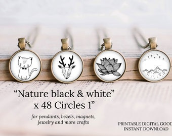 1 inch circle round nature images
